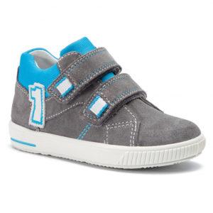buty superfit-szaro-niebieskie